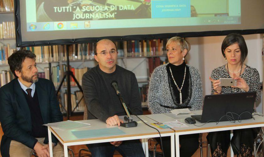 A SCUOLA DI DATA JOURNALISM presentazione progetto BIBLIOTECA DELLE ARTI